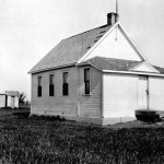 The original Carleton School building by A.J. Manning